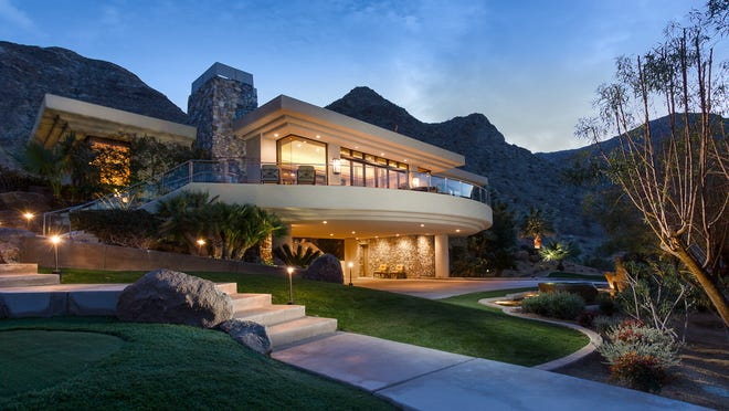 The 8,200-square-foot former home of novelist Joseph Wambaugh in Rancho Mirage