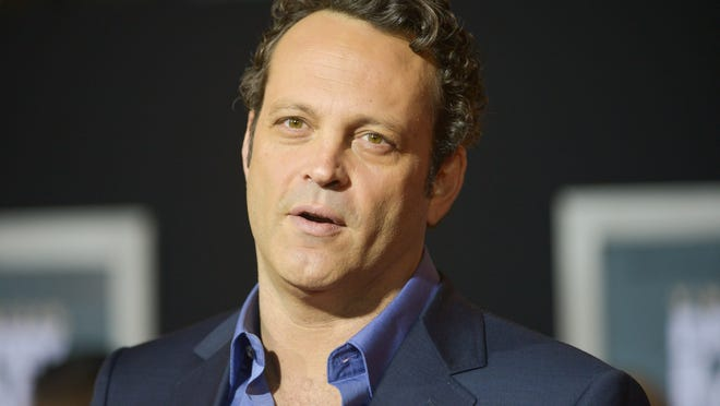 "FILE - In this Nov. 3, 2013 file photo, Vince Vaughn arrives at the world premiere of ""Delivery Man"" at The El Capitan Theatre  in Los Angeles. HBO says that Colin Farrell and Vaughn will star in the second season of ""True Detective."" The eight-episode drama series will begin production in California this fall, the premium cable channel said Tuesday, Sept. 23, 2014. (Photo by Richard Shotwell/Invision/AP, file)"