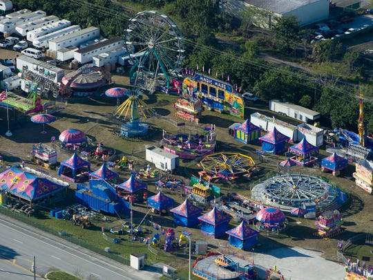 The community stage and sidewalks near the main walkway at the Martin County Fair will be filled with entertainers. The fair is Friday through Feb. 18.