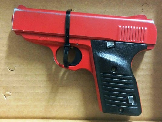 Lookalike Guns Painted Handgun
