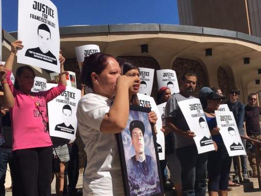 Support for justice for Francisco Valdez