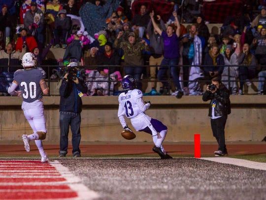FCS playoffs: Weber State at Southern Utah, Saturday, December 2, 2017, in Cedar City, Utah. Final score: WSU 30, SUU 13.