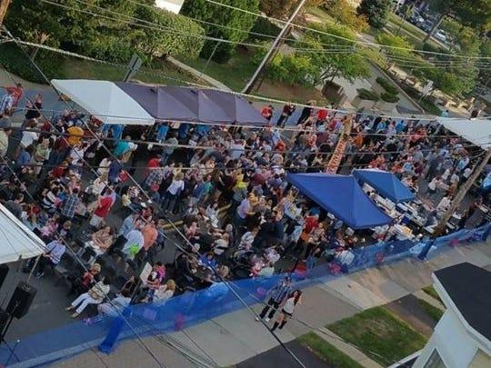 Somerville's fifth annual Oktoberfest.