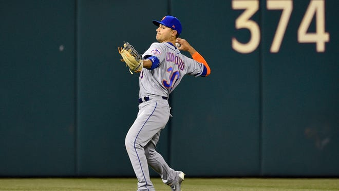 Michael Conforto and the New York Mets are at the top of the National League power rankings.