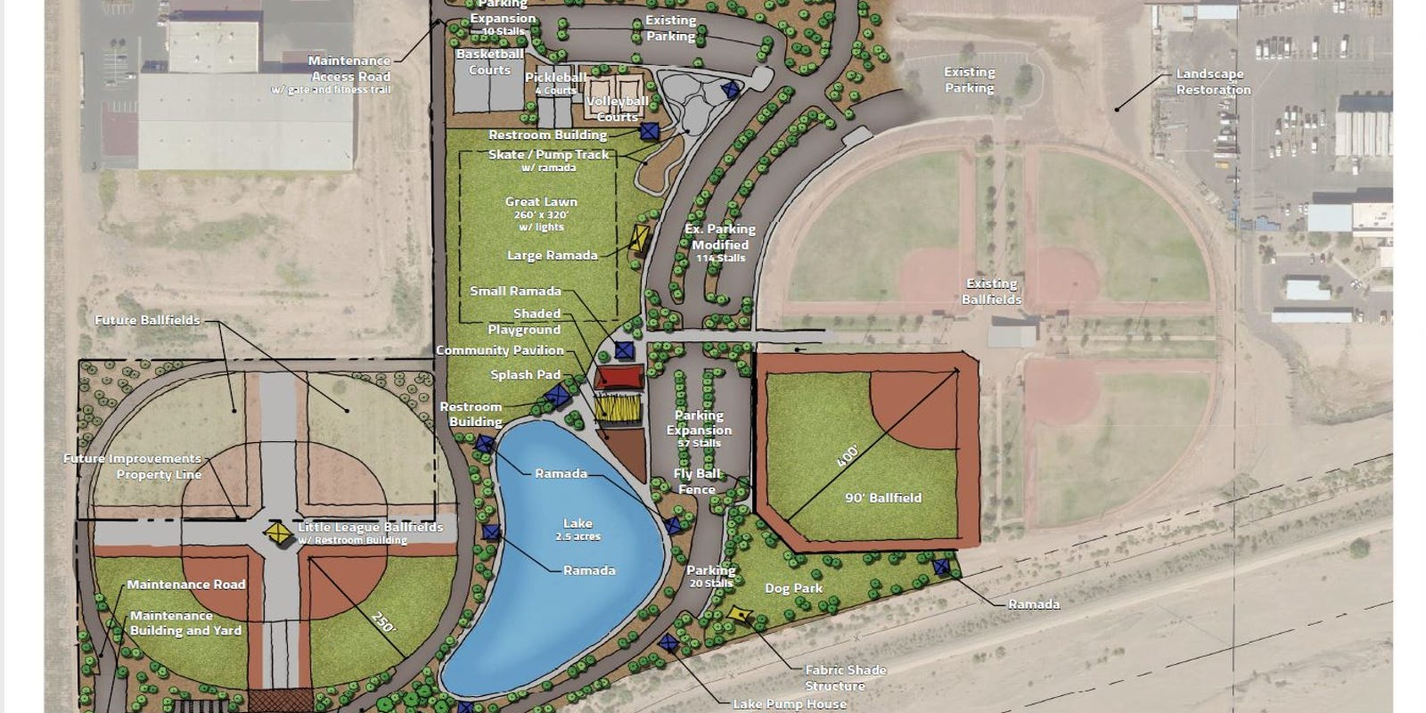 Avondale's Festival Fields Park more than doubles in size. Here's what to expect