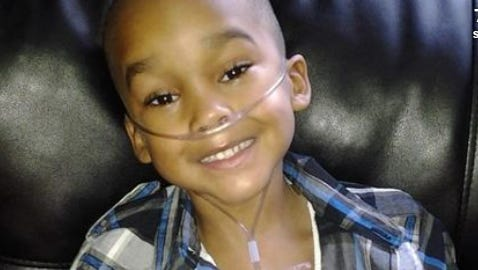 A Texas woman is accused of subjecting her healthy son, 8-year-old Christopher Bowen, to 323 doctor visits and 13 major surgeries.