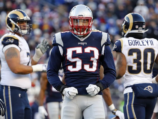 McQueen High alum Kyle Van Noy won a Super Bowl with the Patriots and finished the season with a career-high 52 tackles in 14 games.