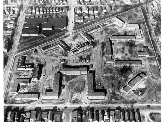 Lincoln Gardens, 1938-1940.