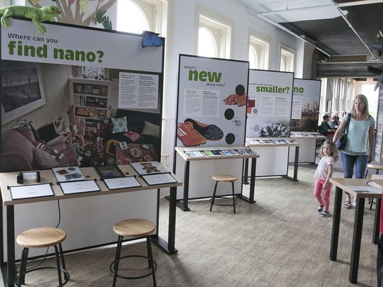 An overall of the new nano exhibit at Above and Beyond Children's Museum Wednesday, July 1, in Sheboygan.