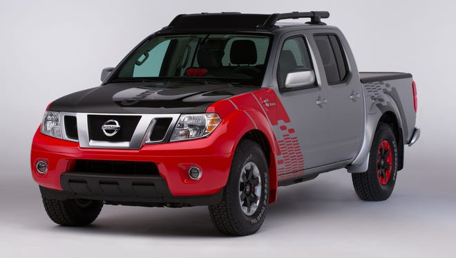 The Nissan Frontier Diesel Runner version of the Frontier midsize pickup with a Cummins diesel engine.