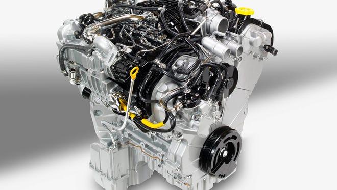 3.0-liter EcoDiesel V-6 engine