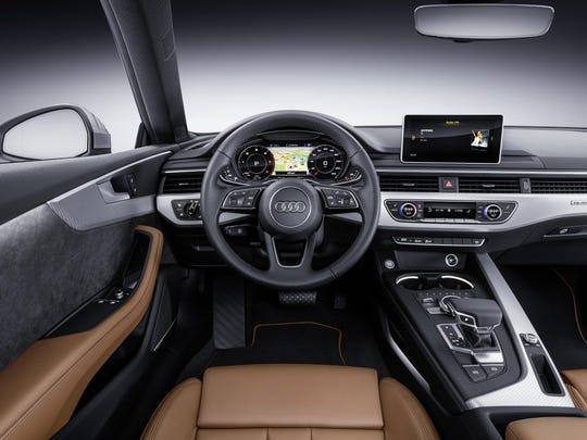 2018 Audi A5 Coupe cockpit
