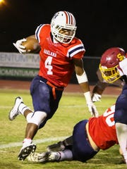 Lazarius Patterson picks up yardage in Oakland's win over Science Hill