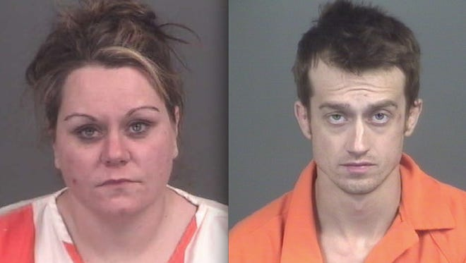 From left: Crystal Deweese and Jeremy Young.