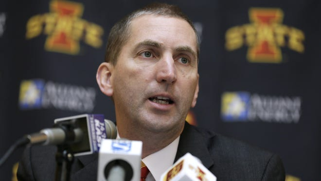 Jamie Pollard faces the difficult challenge of wooing a top-flight coach to Ames in a year saturated with major-college openings.