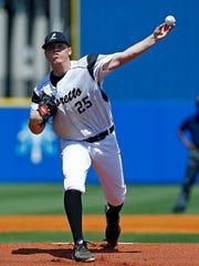 Loretto pitcher Ryan Weathers