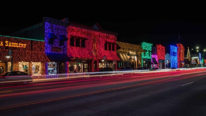 Downtown Rochester's festival of lights.