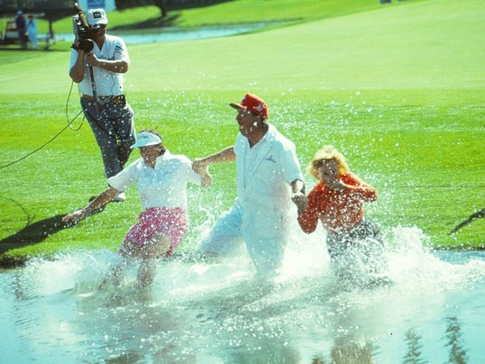 Jumping Into Poppie's Pond Is A Tradition Every LPGA Player Wants To Enjoy