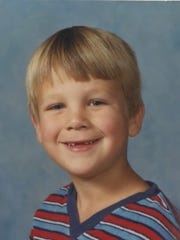 Kim Brown's son Andy, in third grade.