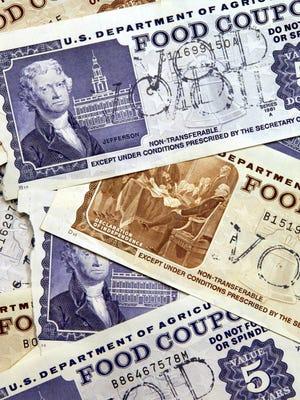 Older, traditional food stamps.