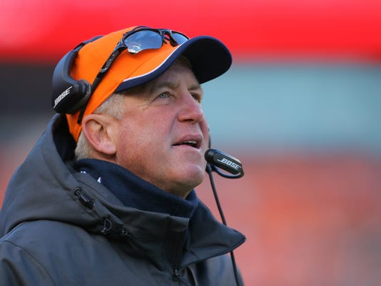 FILE: John Fox Leaves Post as Denver Broncos Head Coach