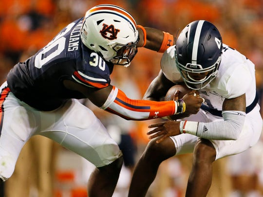 NCAA Football: Georgia Southern at Auburn