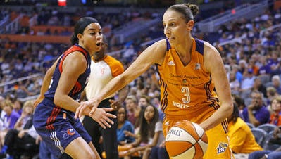 Diana Taurasi and the Phoenix Mercury ending a skid on Wednesday.