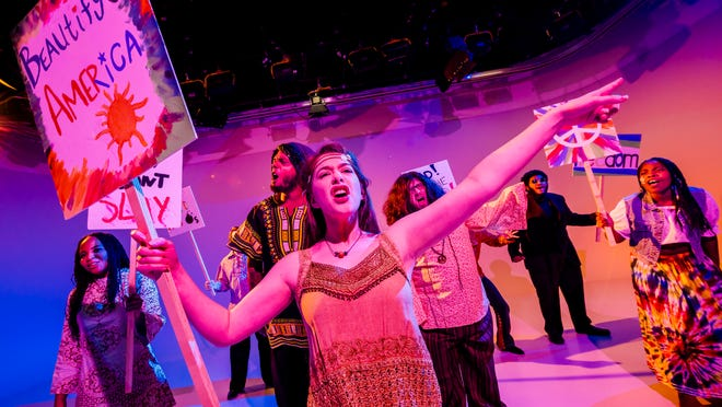 """Lansing Community College will put on a production of """"Hair."""""""