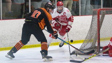 Brighton wins clash of defending state hockey champs, 2-0, over Brother Rice