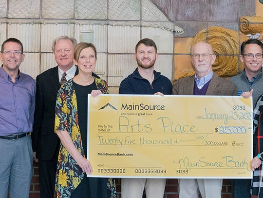 MainSource Bank recently donated $25,000 to the Arts
