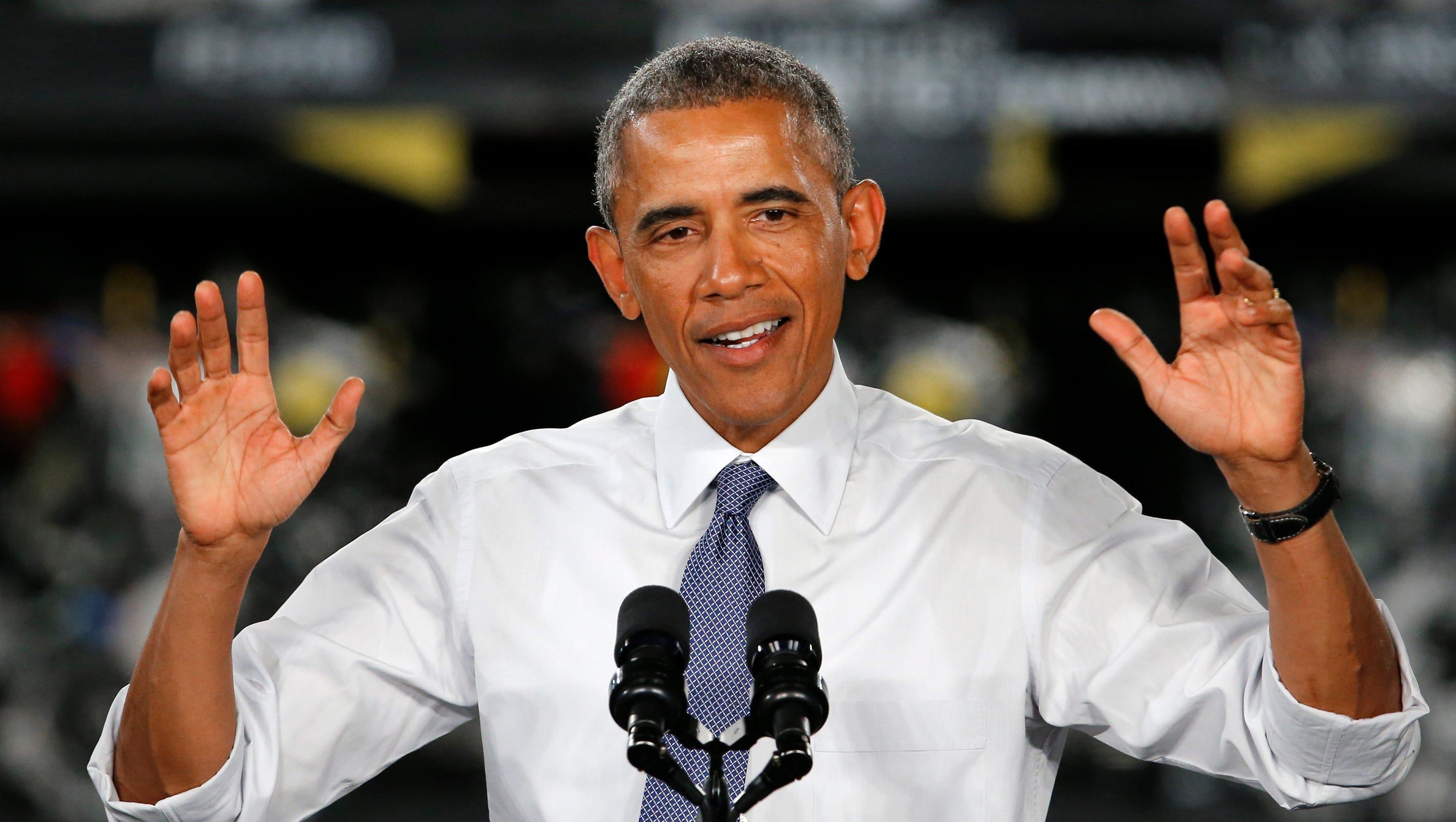 The Office of Barack and Michelle Obama - Barack Obama