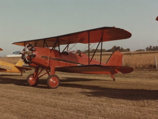 Early Springfield barnstormer laid to rest