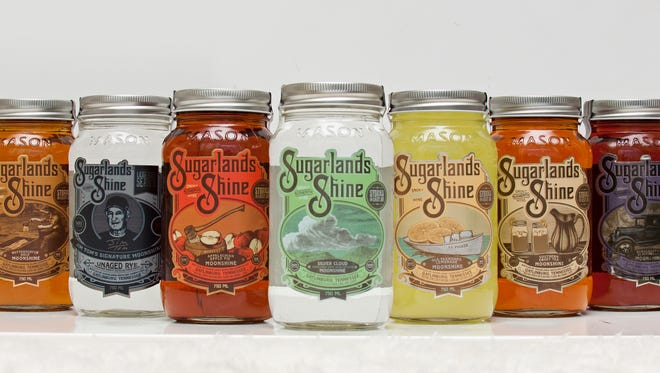 Sugarlands Distilling Co. has a growing array of moonshine flavors.