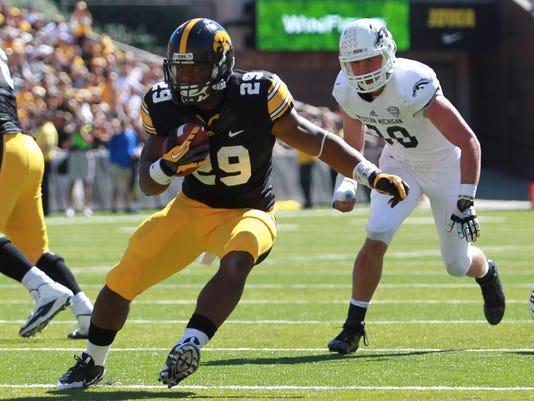 NCAA Football: Western Michigan at Iowa