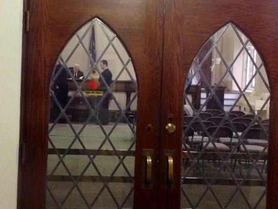 Closed-door arraignment of Brendan Cronin
