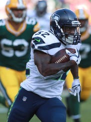 Chris Carson has unexpectedly become the Seahawks'