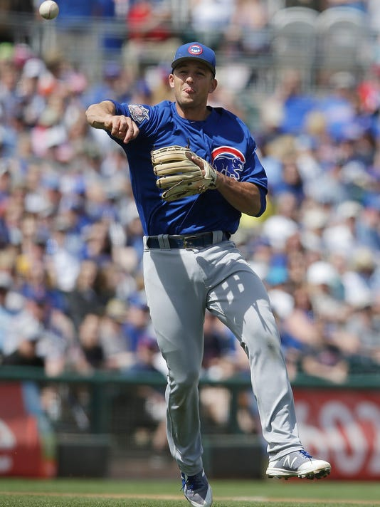 MLB: Spring Training-Chicago Cubs at Kansas City Royals