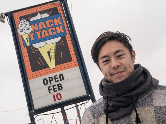 Jack Seto closed Snack Attack during January.