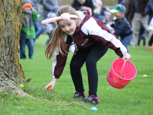 Hundreds of families flock to Schedel Arboretum and Gardens each year for the Easter Egg Hunt throughout the 17-acre property.