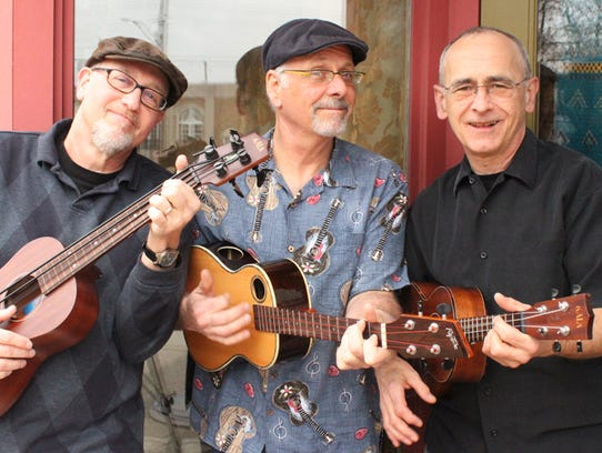 The Uke Kings will perform at Mini Uke Day at the Trinity