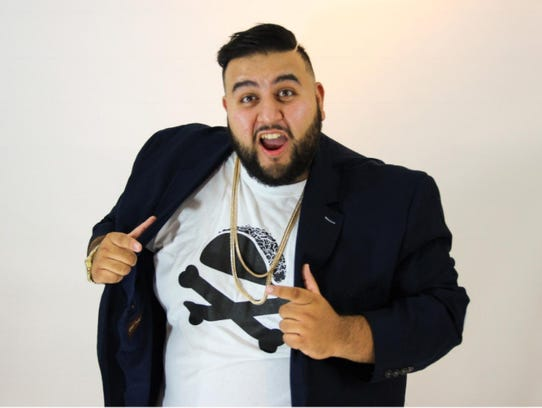 "Comedian Jesus ""Midnite"" Castillo performs at 9 p.m."