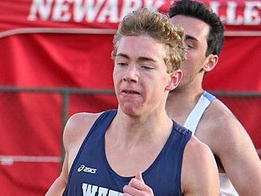 Patrick Hazlitt was named MVP in boys cross country, boys indoor track and boys spring track.