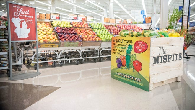 Meijer recently started the Misfits program at its stores to sell its perfectly imperfect produce.