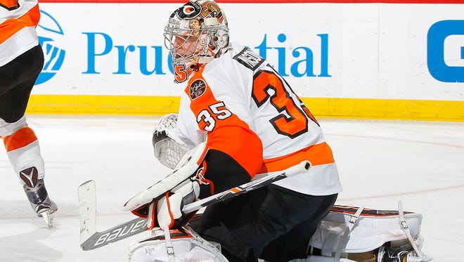 This weekend may mark the end of Steve Mason's time with the Flyers. He joined them in March 2013.