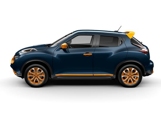 """The Juke Color Studio offers owners bold new way to """"make it yours"""" with 12 accessories and eight color options."""