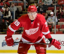 Mantha, 22, had 17 goals and 19 assists in 60 game...