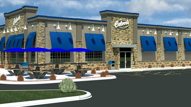 A rendering of the new Culver's restaurant that will be located at 1805 Plover Road in Plover.