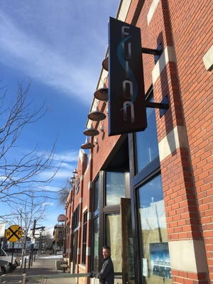 The outside of FUSION, a nightclub and Zumba/hip hop fitness space on Linden Street.