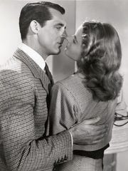 """Cary Grant, left, and Ingrid Bergman star in the 1946 Alfred Hitchcock thriller """"Notorious."""""""