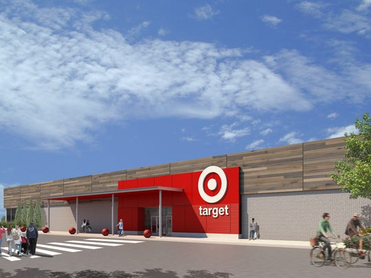 The Target store proposed for South Burlington's University Mall is shown in this rendering supplied by the retailer.